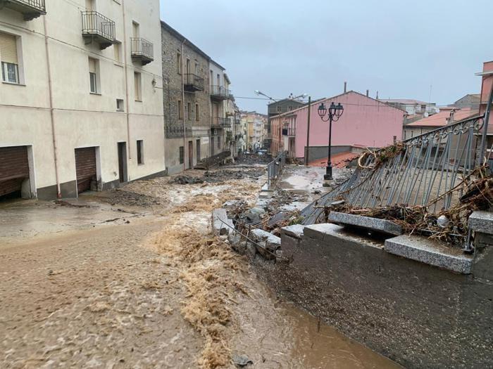 Sardegna, le immagini dell'alluvione