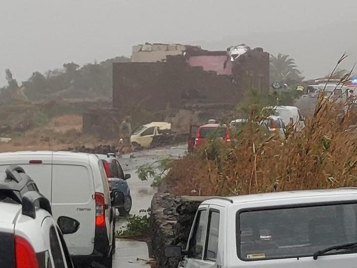 Tornado a Pantelleria: morti e feriti