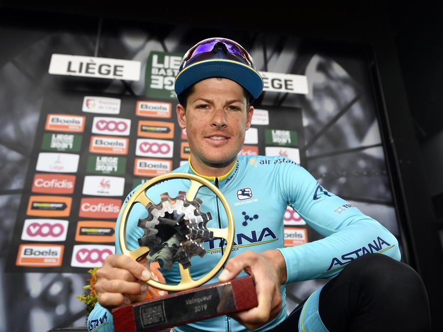 APRILE. CICLISMO. Il danese Jakob Fuglsang vince la 105esima edizione della Liegi-Bastogne-Liegi. (Afp)
