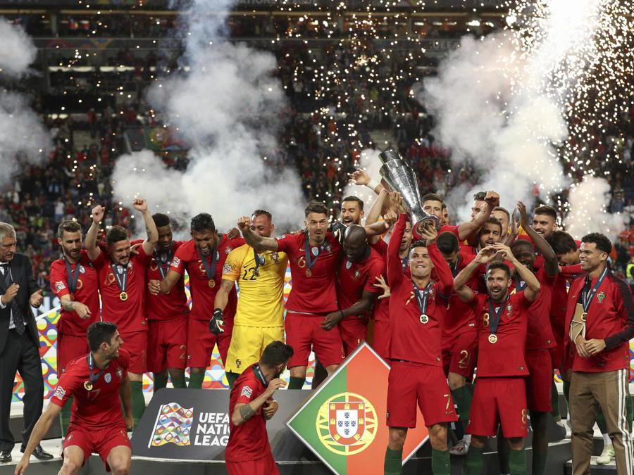 GIUGNO.CALCIO. Il Portogallo vince la prima edizione della Nations League. In una finale combattuta, i campioni d'Europa in carica superano 1-0 l'Olanda.  (Photo by Paulo Oliveira / DPI / NurPhoto)