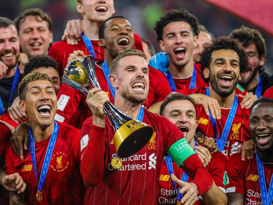 DICEMBRE.CALCIO. Grazie alla rete realizzata da Firmino nel primo tempo supplementare, i campioni d'Europa in carica del Liverpool si laureano campioni del mondo per la prima volata nella storia dei Reds. Sconfitti nella finale di Doha, i brasiliani del Flamengo .(Afp)
