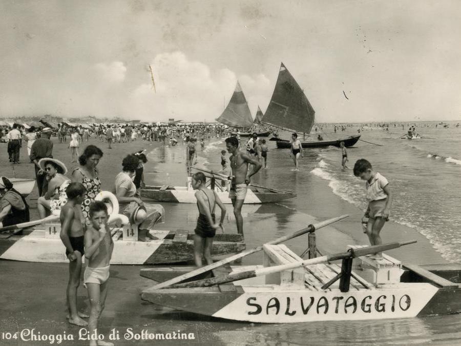 Lido di Sottomarina, Chioggia (1952)