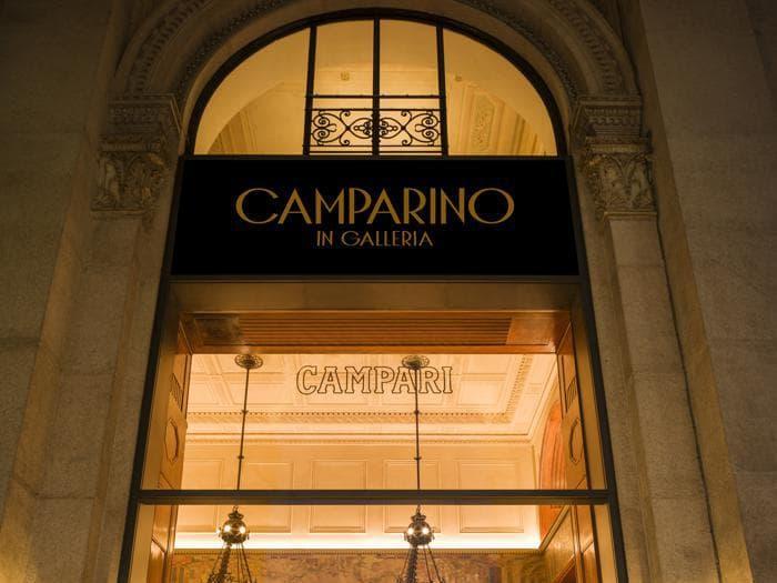 A Milano torna lo storico Camparino in Galleria