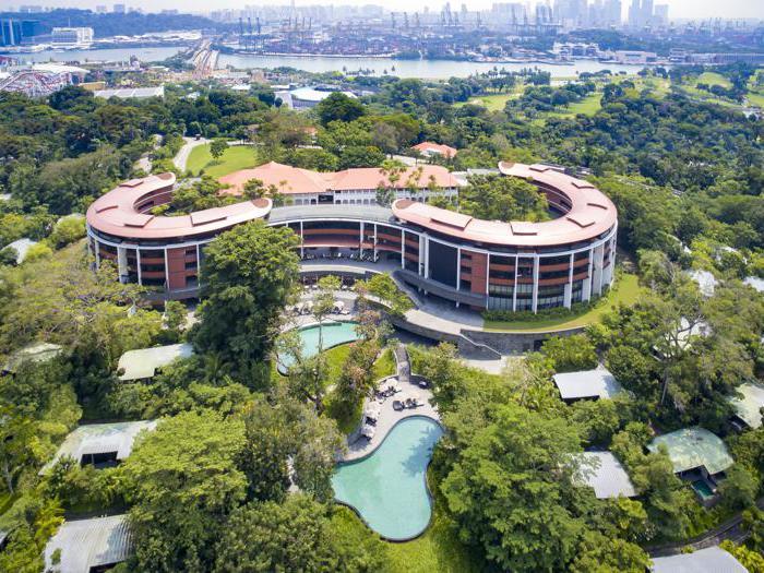 A Singapore nell'hotel dell'incontro fra Trump e Kim Jong Un