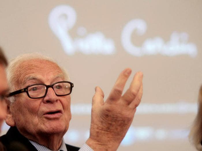 Addio a Pierre Cardin, couturier fra Italia e Francia