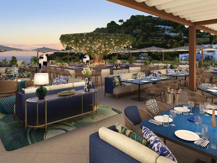 Capri, le meraviglie dello storico Hotel La Palma