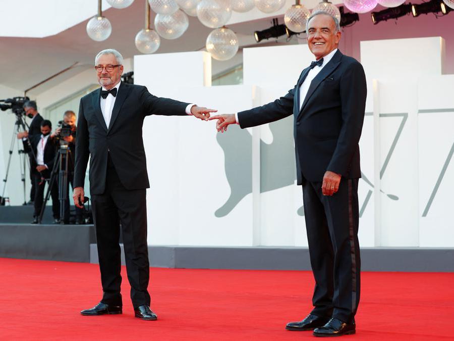 Roberto Cicutto e Alberto Barbera (REUTERS/Guglielmo Mangiapane)
