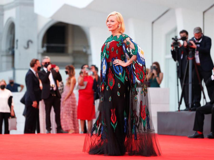 Cate Blanchett (REUTERS/Guglielmo Mangiapane)