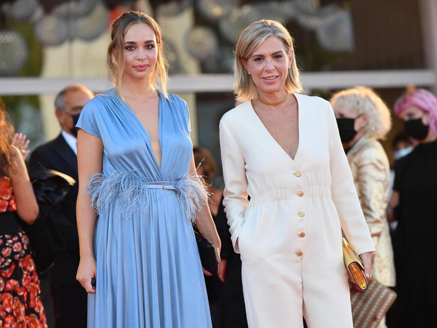 Francesca Comencini con la figlia Camille (ANSA/ETTORE FERRARI)