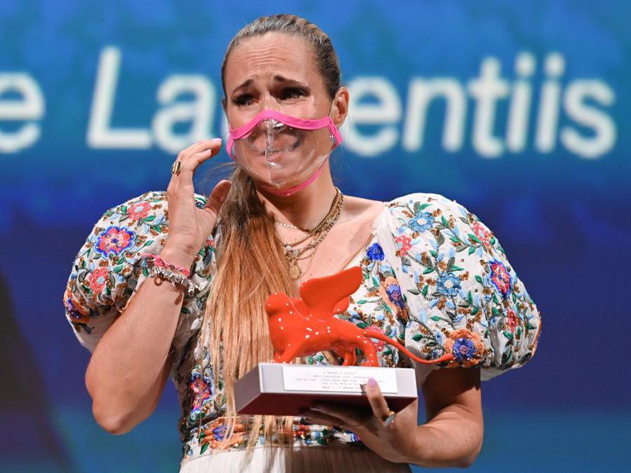 Ana Rocha de Sousa  (Photo by Alberto PIZZOLI / AFP)