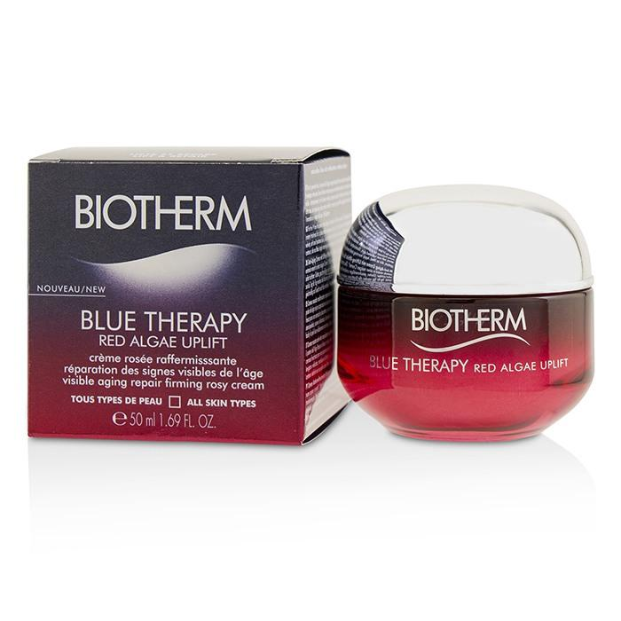 Biotherm Blue Therapy Red Algae Uplift, la nuova linea ha un mix di potenti ingredienti, tra cui la red algae nota per le sue proprietà liftanti. La maison si sta impegnando per togliere il cellophane da i suoi pack.