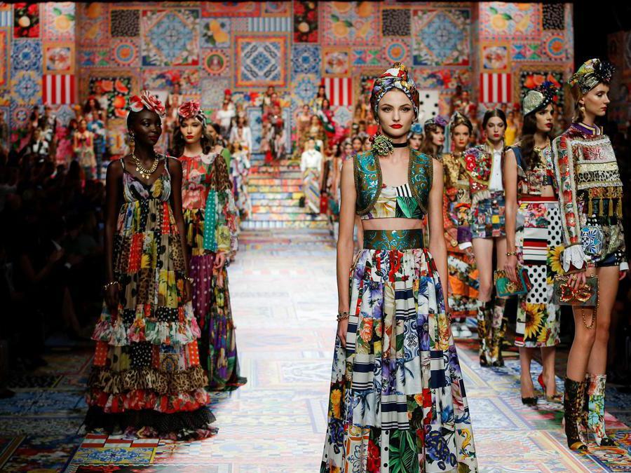 Dolce & Gabbana Spring/Summer 2021  REUTERS.