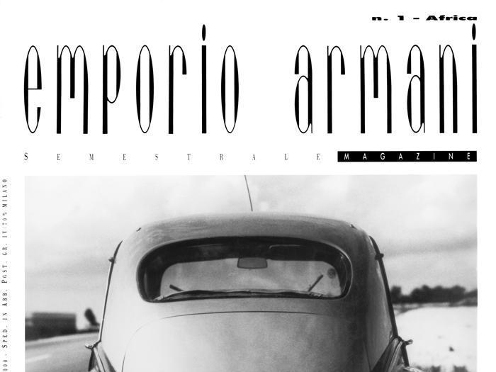 Emporio Armani, 40 anni di stile e sperimentazioni