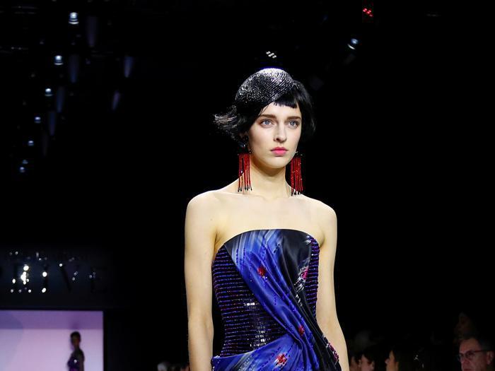 Giorgio Armani Privé, l'esuberanza equilibrata del colore