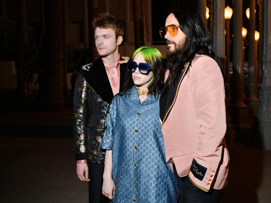 Finneas O'Connell, Billie Eilish, e Jared Leto (Photo by Emma McIntyre/Getty Images for LACMA)