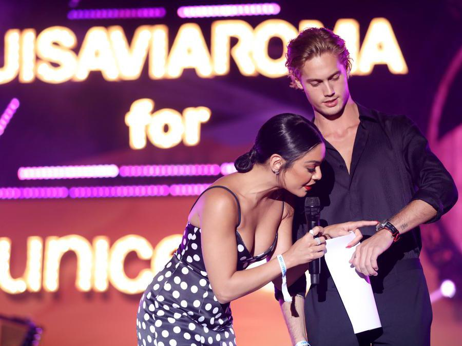 Vanessa Hudgens e Neels Visser (Jacopo Raule/Getty Images)