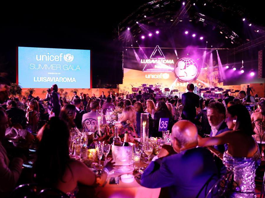 Una vista generale della cena al  Summer Gala  (Jacopo Raule/Getty Images)