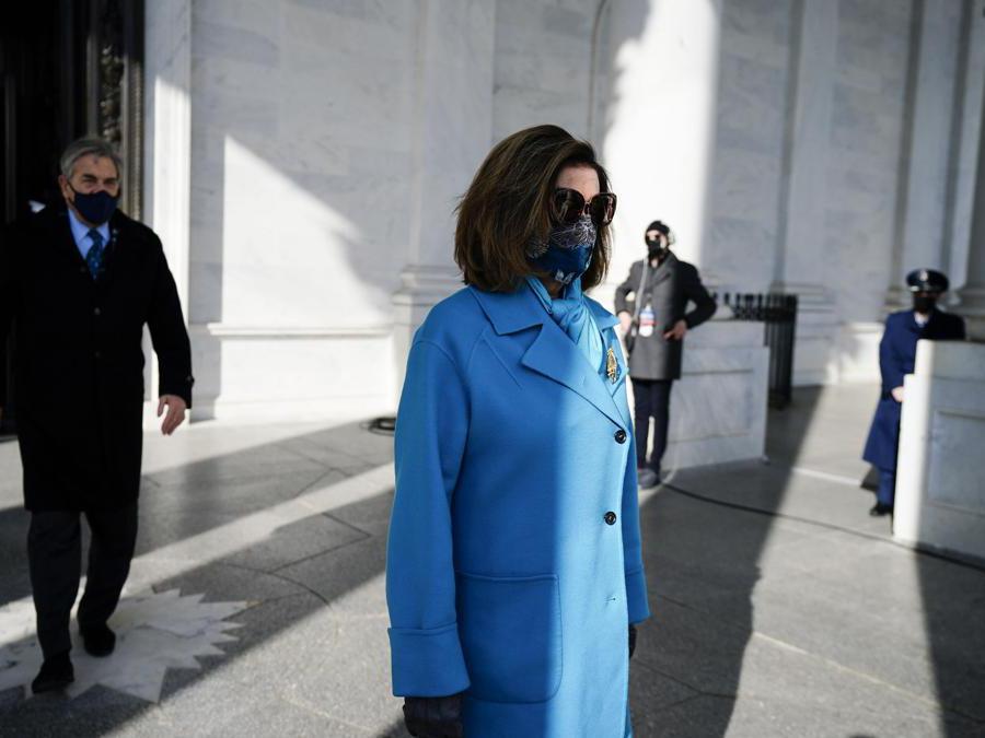 Presidente della Camera dei rappresentanti degli Stati Uniti Nancy Pelosi (Afp/Melina Mara)