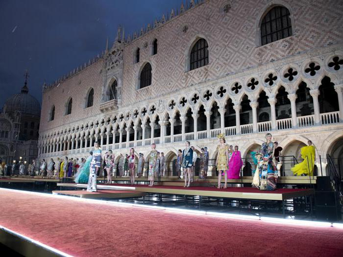 L'alta moda di Dolce&Gabbana abbraccia Venezia