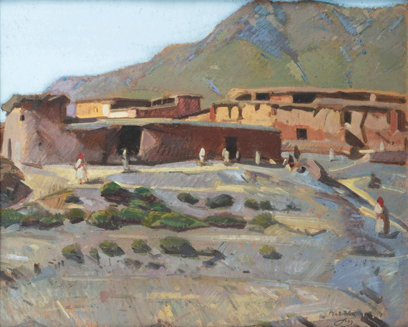 Jacques Majorelle, I giardini Majorelle, Marrakech, 1950-55