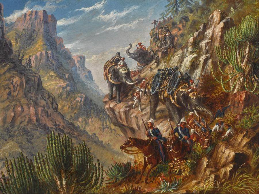 Thomas Baines, La spedizione britannica in Abissinia, 1868