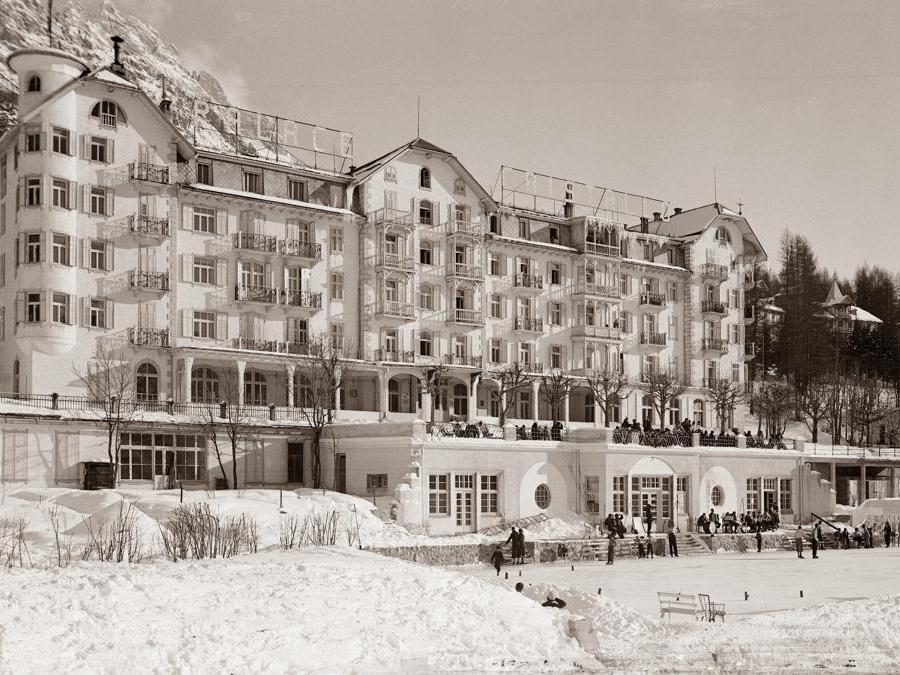 Il Cristallo Palace all'epoca della proprietà Menardi, oggi membro di Luxury Collection di Marriott International