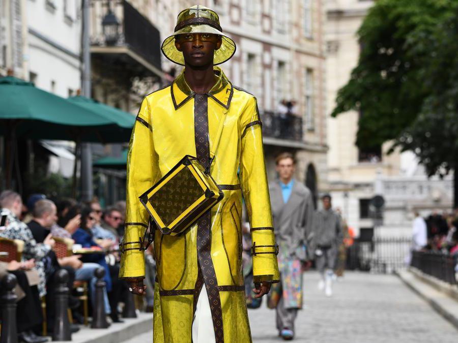 La sfilata  Louis Vuitton (Afp)