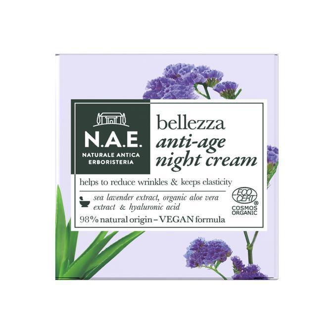 N.A.E. (Naturale Antica Erboristeria), un brand ecologico con prodotti per la cura del viso e del corpo realizzati con ingredienti tutti naturali, certificati ECOCERT.