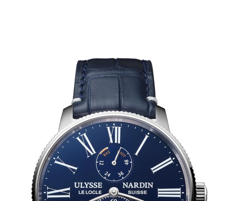 Ulysse Nardin – Marine Torpilleur Smaltato Blu