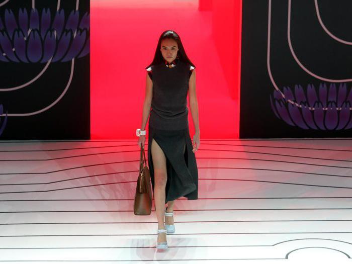 Prada, femminilità e  new glamour per l'AI 2020/21
