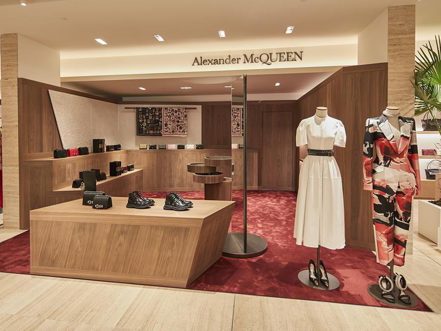 Rinascente  Torino - Alexander McQueen
