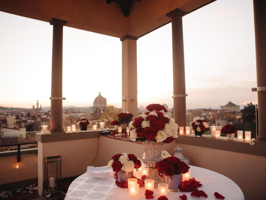 Altana Terrace Romantic Dinner
