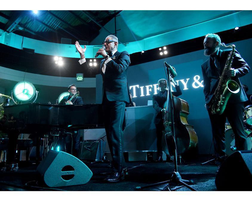 Jeff Goldblum è stato fra le star che a Los Angeles hanno presenziato al lancio della nuova collezione Tiffany's Men