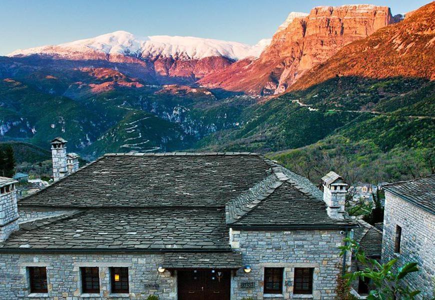 Aristi Mountain Resort Villas - Grecia. Gli esterni