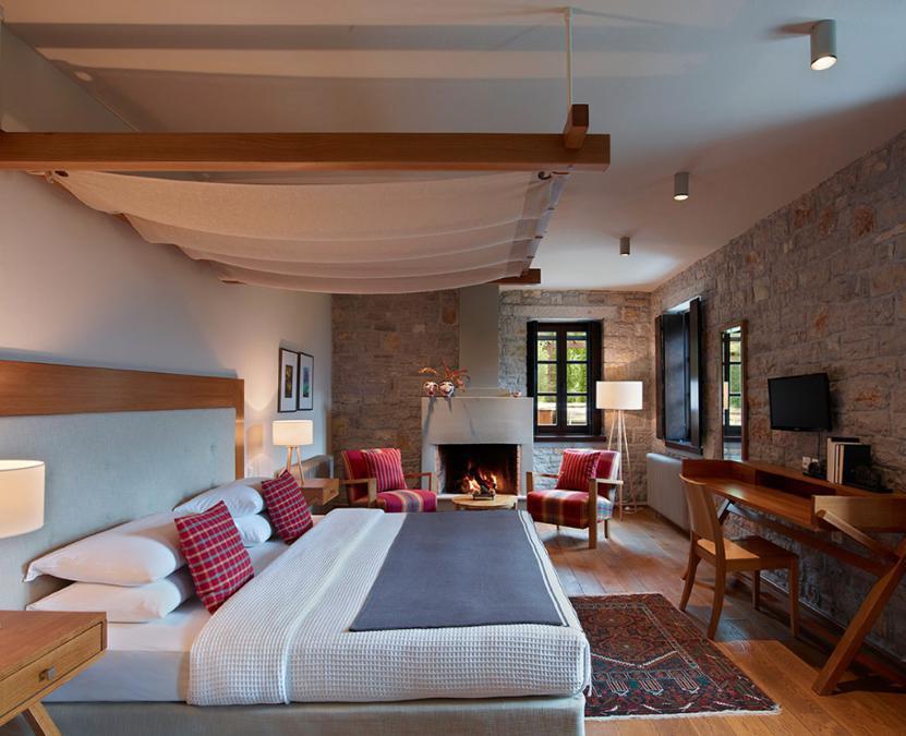 Aristi Mountain Resort  Villas - Grecia. Le camere