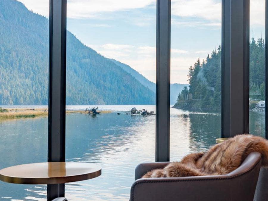 Clayoquot Wilderness Resort - Canada. La Lounge