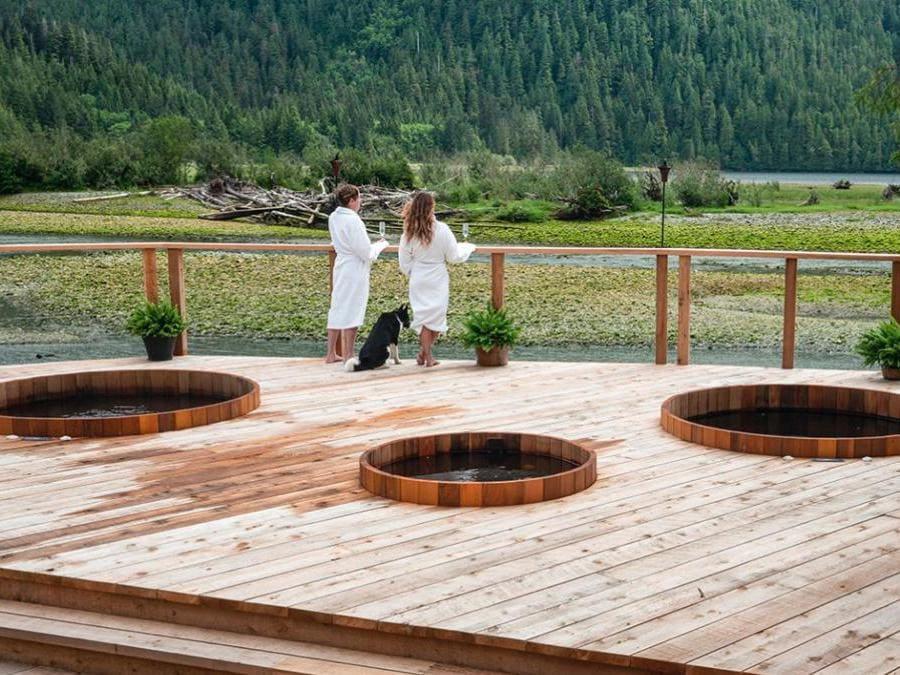 Clayoquot Wilderness Resort- Un'area della Spa