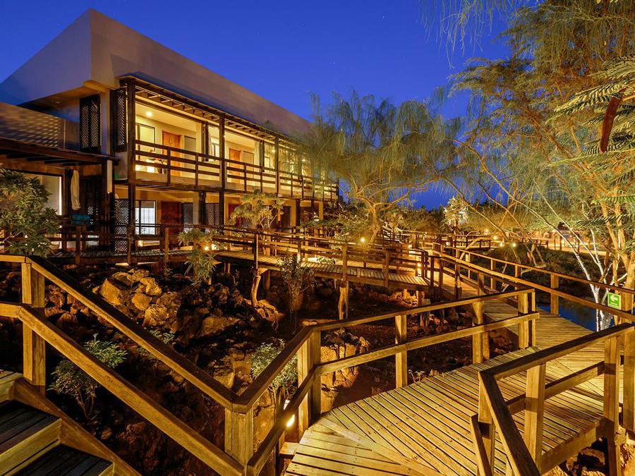 Finch Bay- Galapagos. L'Hotel