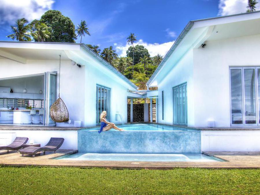 Vacala Bay Resort - Fiji. Un'esterno della villa
