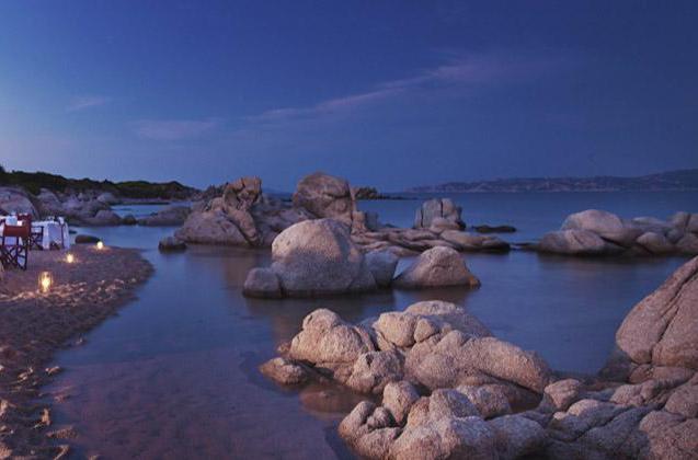 Valle dell'Erica - Sardegna. Ristorante sulla spiaggia
