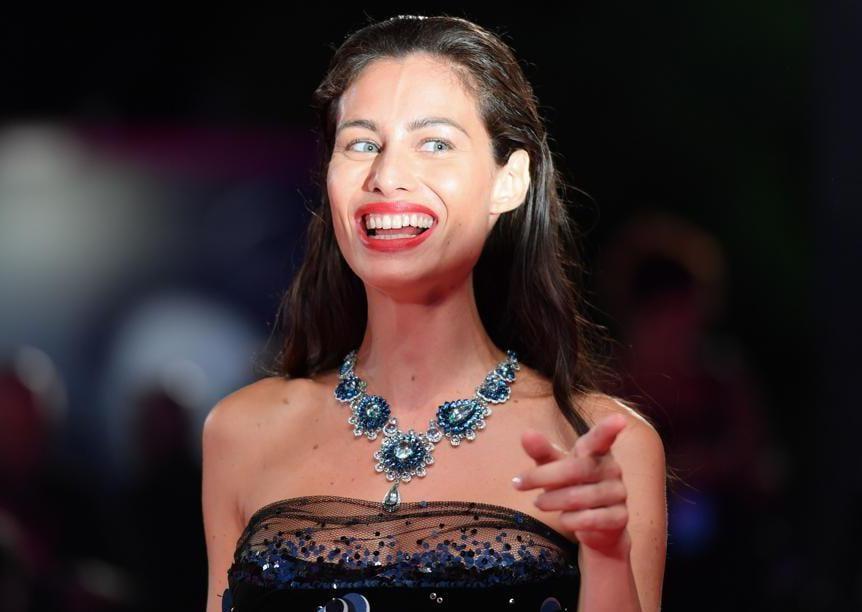 Marica Pellegrinelli ha indossato una collana Chopard