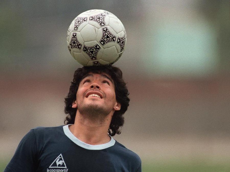 22 maggio 1986. (Photo by JORGE DURAN / AFP)