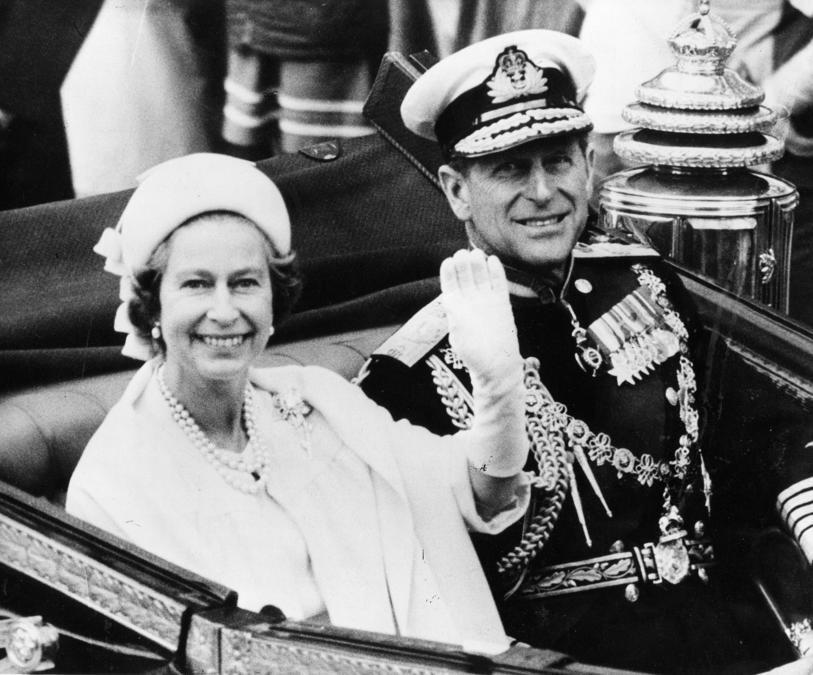La Regina Elisabetta II e il principe Filippo (Ipp)