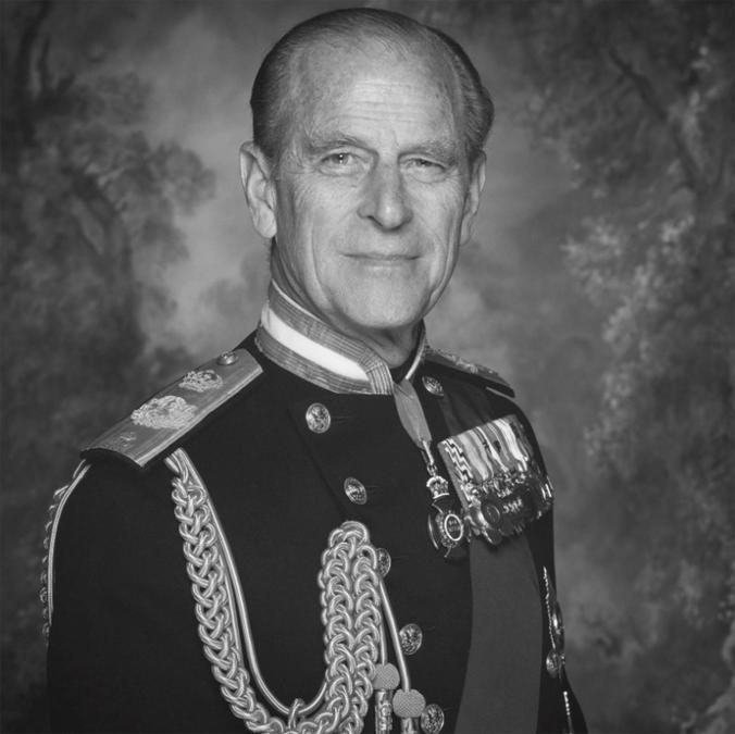 Un'immagine del principe Filippo tratta dal profilo twitter The Royal Family (Ansa)