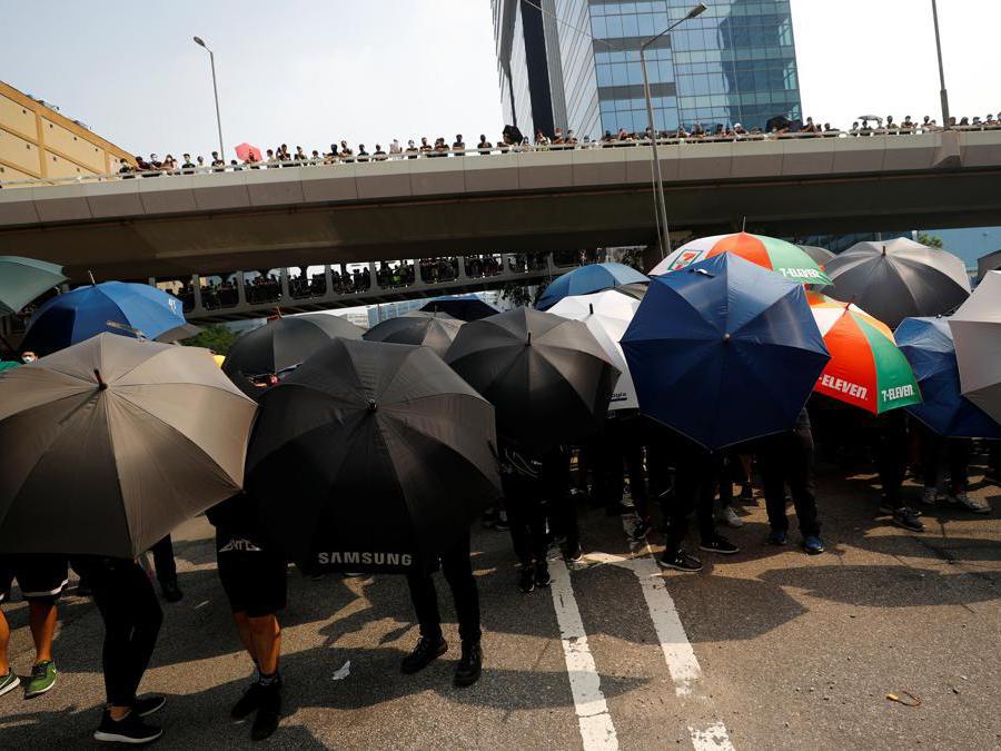 Marcia di protesta a Hong Kong, 24 agosto  2019 (Reuters)