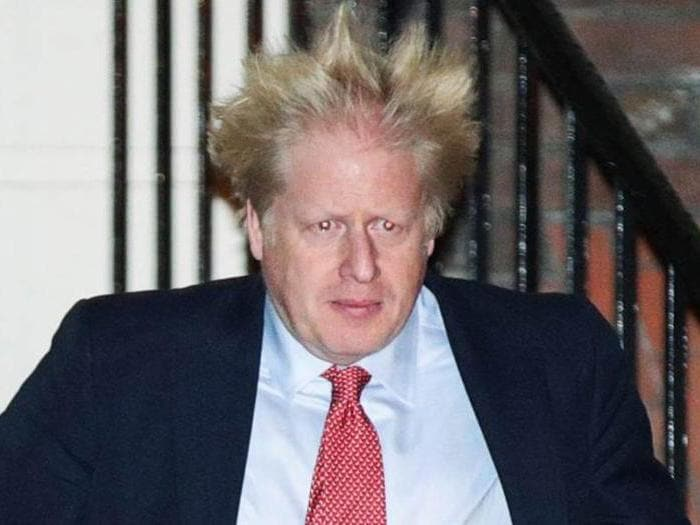 Boris Johnson, la vittoria in 12 scatti