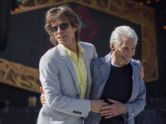 Charlie Watts, addio al metronomo dei Rolling Stones