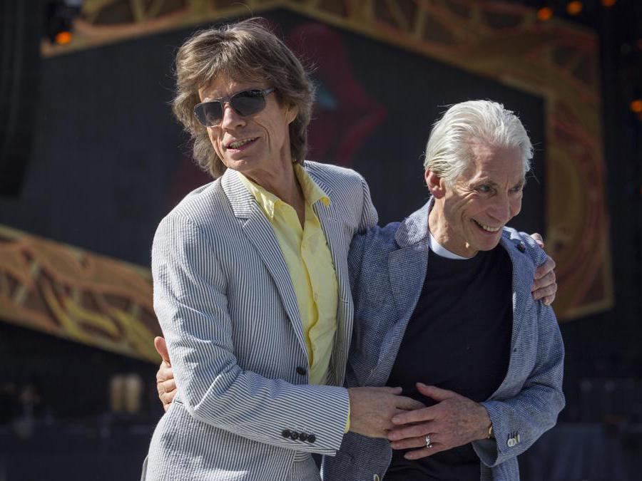 Mick Jagger e Charlie Watts (Epa/ Ben  MacMahon)