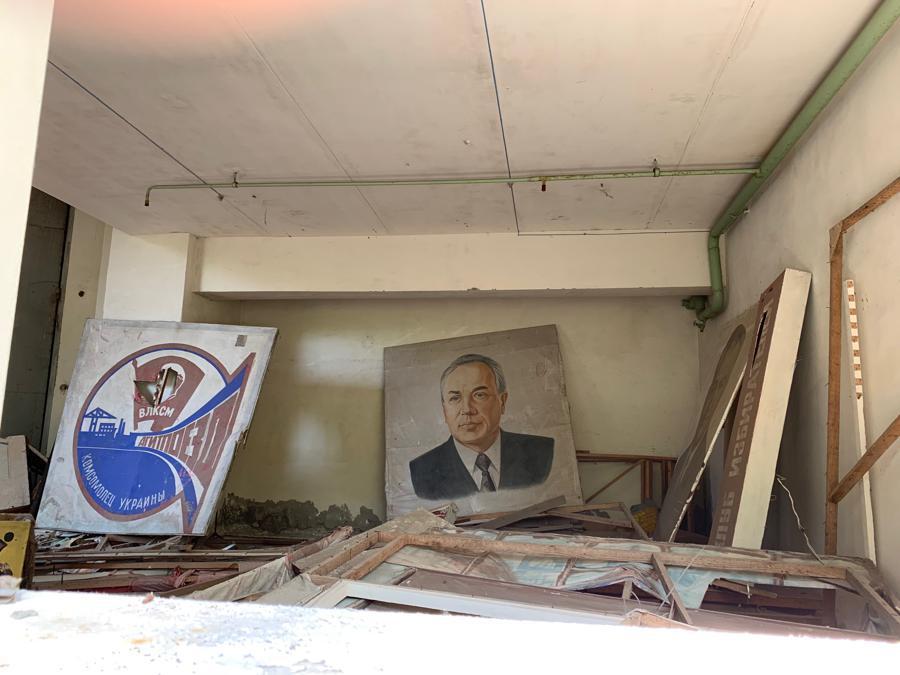 Edifici abbandonati a Pripyat
