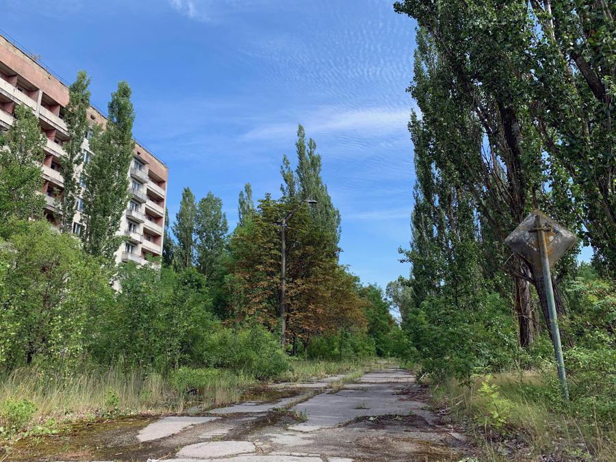 Una via di Pripyat